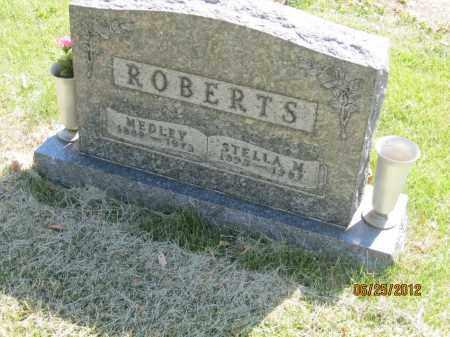 ROBERTS, MEDLEY - Franklin County, Ohio | MEDLEY ROBERTS - Ohio Gravestone Photos