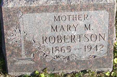 ROBERTSON, MARY MAY - Franklin County, Ohio | MARY MAY ROBERTSON - Ohio Gravestone Photos