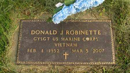 ROBINETTE, DONALD J. - Franklin County, Ohio | DONALD J. ROBINETTE - Ohio Gravestone Photos