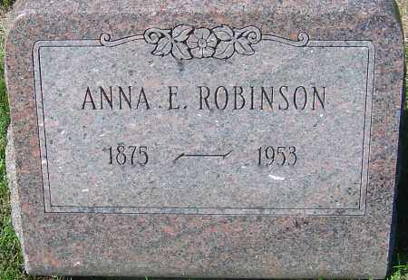 ROBINSON, ANNA ELIZABETH - Franklin County, Ohio   ANNA ELIZABETH ROBINSON - Ohio Gravestone Photos