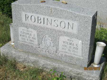 ROBINSON, GEORGE JENNINGS - Franklin County, Ohio | GEORGE JENNINGS ROBINSON - Ohio Gravestone Photos