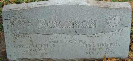 ROBINSON, LOUISE - Franklin County, Ohio   LOUISE ROBINSON - Ohio Gravestone Photos