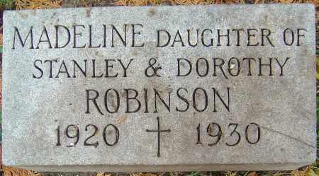 ROBINSON, MADELINE - Franklin County, Ohio | MADELINE ROBINSON - Ohio Gravestone Photos