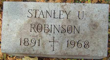 ROBINSON, STANLEY ULRICH - Franklin County, Ohio | STANLEY ULRICH ROBINSON - Ohio Gravestone Photos