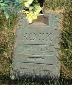 ROCK, THOMAS BURL - Franklin County, Ohio | THOMAS BURL ROCK - Ohio Gravestone Photos