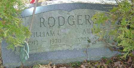 RODGERS, WILLIAM L - Franklin County, Ohio   WILLIAM L RODGERS - Ohio Gravestone Photos
