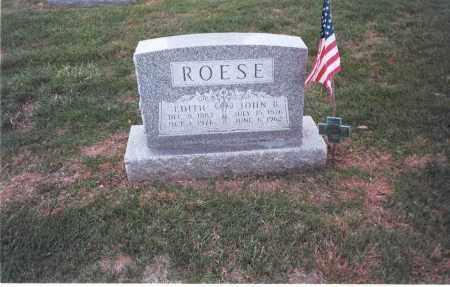 ROESE, JOHN B. - Franklin County, Ohio   JOHN B. ROESE - Ohio Gravestone Photos