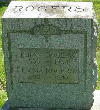 POSTLE ROGERS, EMMA - Franklin County, Ohio   EMMA POSTLE ROGERS - Ohio Gravestone Photos