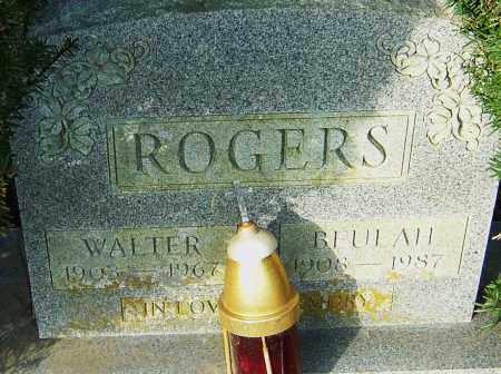 ROGERS, WALTER - Franklin County, Ohio | WALTER ROGERS - Ohio Gravestone Photos