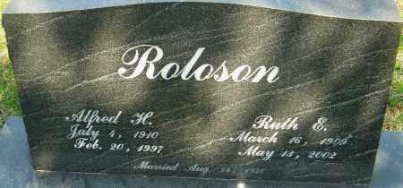 ROLOSON, RUTH E - Franklin County, Ohio | RUTH E ROLOSON - Ohio Gravestone Photos