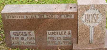 ROSE, CECIL - Franklin County, Ohio | CECIL ROSE - Ohio Gravestone Photos