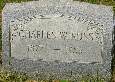 ROSS, CHARLES W - Franklin County, Ohio | CHARLES W ROSS - Ohio Gravestone Photos