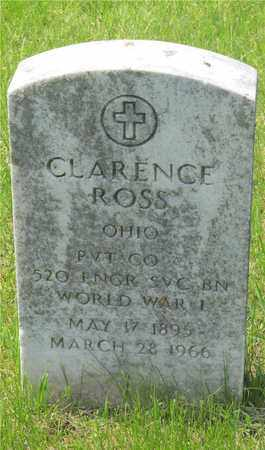 ROSS, CLARENCE - Franklin County, Ohio | CLARENCE ROSS - Ohio Gravestone Photos