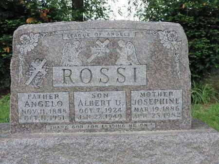 ROSSI, ALBERT U. - Franklin County, Ohio | ALBERT U. ROSSI - Ohio Gravestone Photos