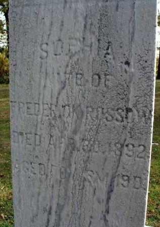 ROSSOW, SOPHIA - Franklin County, Ohio   SOPHIA ROSSOW - Ohio Gravestone Photos