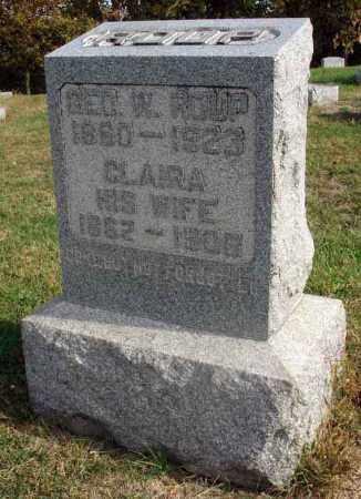 ROUP, GEORGE W. - Franklin County, Ohio | GEORGE W. ROUP - Ohio Gravestone Photos