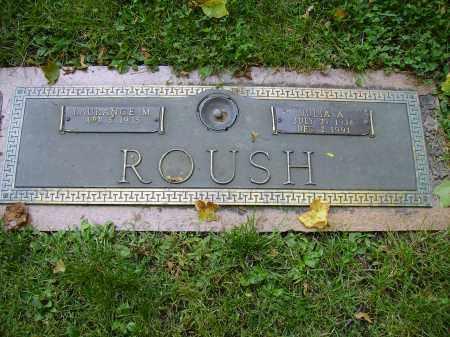 ROUSH, JULIA A. - Franklin County, Ohio   JULIA A. ROUSH - Ohio Gravestone Photos