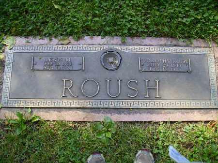 ROUSH, DOROTHY RUTH - Franklin County, Ohio | DOROTHY RUTH ROUSH - Ohio Gravestone Photos