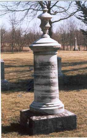 ROWLAND, GEORGE W. - Franklin County, Ohio | GEORGE W. ROWLAND - Ohio Gravestone Photos