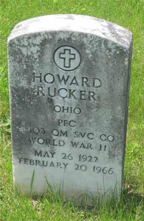 RUCKER, HOWARD - Franklin County, Ohio | HOWARD RUCKER - Ohio Gravestone Photos