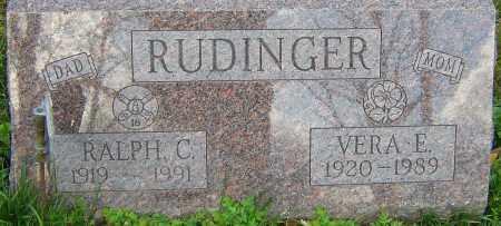DANIELS RUDINGER, VERA - Franklin County, Ohio | VERA DANIELS RUDINGER - Ohio Gravestone Photos