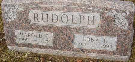 RUDOLPH GARVER, EDNA - Franklin County, Ohio | EDNA RUDOLPH GARVER - Ohio Gravestone Photos