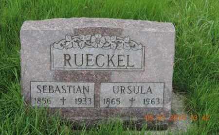 RUECKEL, URSULA - Franklin County, Ohio | URSULA RUECKEL - Ohio Gravestone Photos