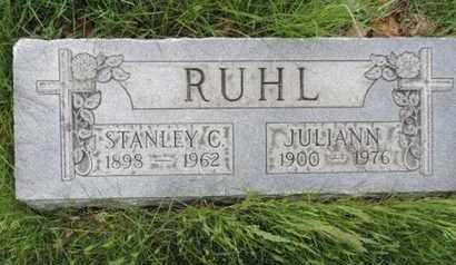 RUHL, JULIANN - Franklin County, Ohio | JULIANN RUHL - Ohio Gravestone Photos