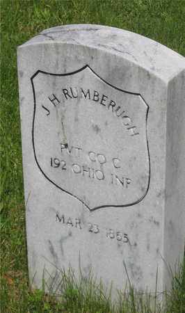 RUMBERUGH, J. H. - Franklin County, Ohio | J. H. RUMBERUGH - Ohio Gravestone Photos