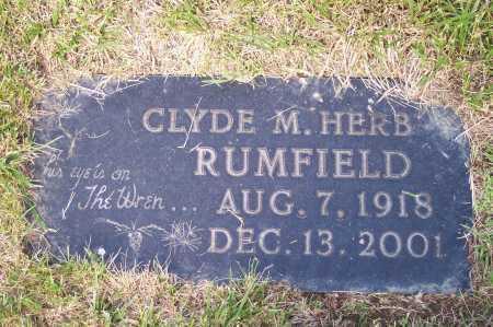 RUMFIELD, CLYDE - Franklin County, Ohio | CLYDE RUMFIELD - Ohio Gravestone Photos