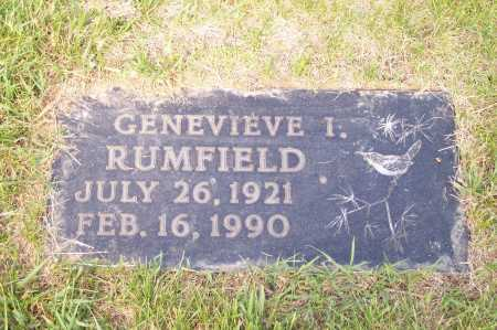 YOUNG RUMFIELD, GENEVIEVE - Franklin County, Ohio   GENEVIEVE YOUNG RUMFIELD - Ohio Gravestone Photos