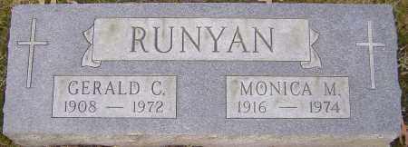 RUNYAN, GERALD - Franklin County, Ohio | GERALD RUNYAN - Ohio Gravestone Photos