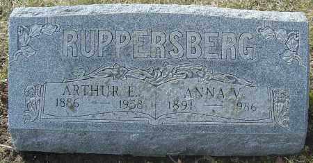 RUPPERSBERG, ANNA V - Franklin County, Ohio | ANNA V RUPPERSBERG - Ohio Gravestone Photos