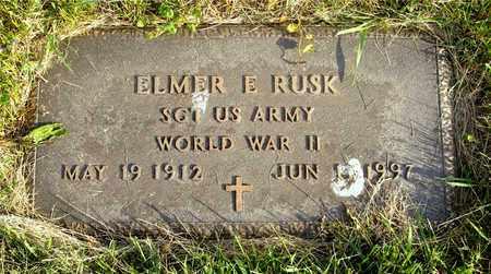 RUSK, ELMER E. - Franklin County, Ohio | ELMER E. RUSK - Ohio Gravestone Photos