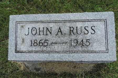 RUSS, JOHN A. - Franklin County, Ohio   JOHN A. RUSS - Ohio Gravestone Photos