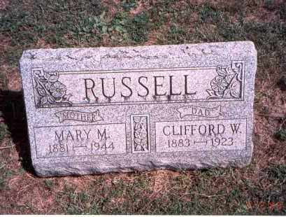 FULTZ RUSSELL, MARY M. - Franklin County, Ohio | MARY M. FULTZ RUSSELL - Ohio Gravestone Photos
