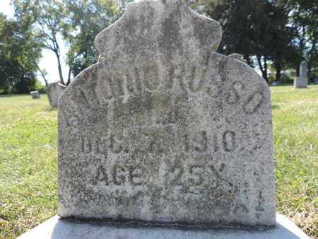 RUSSO, ANTONIO - Franklin County, Ohio   ANTONIO RUSSO - Ohio Gravestone Photos