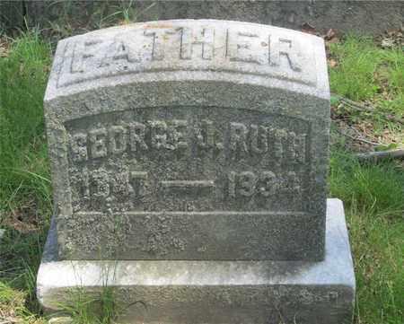 RUTH, GEORGE J. - Franklin County, Ohio | GEORGE J. RUTH - Ohio Gravestone Photos