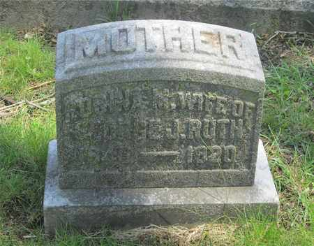 HALLER RUTH, ROSINA M. - Franklin County, Ohio | ROSINA M. HALLER RUTH - Ohio Gravestone Photos