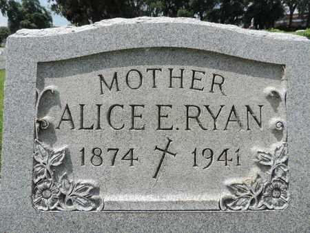 RYAN, ALICE - Franklin County, Ohio | ALICE RYAN - Ohio Gravestone Photos