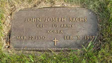 SACHS, JOHN JOSEPH - Franklin County, Ohio   JOHN JOSEPH SACHS - Ohio Gravestone Photos