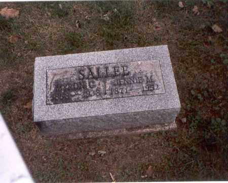 SALLEE, MYRON C. - Franklin County, Ohio | MYRON C. SALLEE - Ohio Gravestone Photos