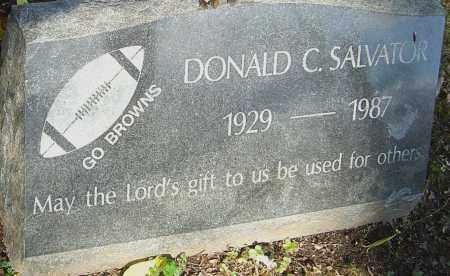 SALVATOR, DONALD - Franklin County, Ohio   DONALD SALVATOR - Ohio Gravestone Photos