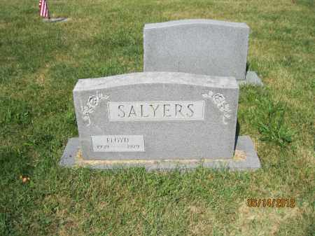SALYERS, FLOYD - Franklin County, Ohio   FLOYD SALYERS - Ohio Gravestone Photos
