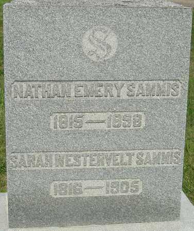 SAMMIS, SARAH WESTERVELT - Franklin County, Ohio | SARAH WESTERVELT SAMMIS - Ohio Gravestone Photos