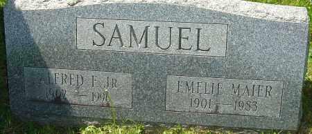 MAIER SAMUEL, EMELIE - Franklin County, Ohio | EMELIE MAIER SAMUEL - Ohio Gravestone Photos