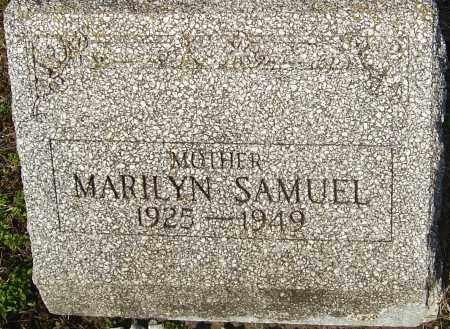 SAMUEL, MARILYN - Franklin County, Ohio | MARILYN SAMUEL - Ohio Gravestone Photos