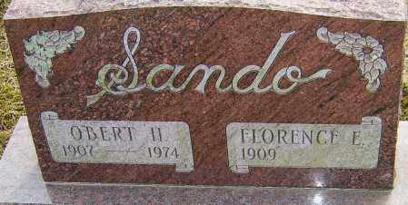 SANDO, OBERT H - Franklin County, Ohio | OBERT H SANDO - Ohio Gravestone Photos