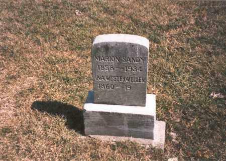 SANDY WESTERWELLER, INA - Franklin County, Ohio | INA SANDY WESTERWELLER - Ohio Gravestone Photos