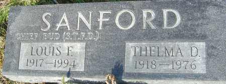 SANFORD, LOUIS F - Franklin County, Ohio | LOUIS F SANFORD - Ohio Gravestone Photos